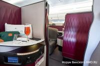Новый бизнес-класс QSuite у Qatar Airways - Сайт Винского